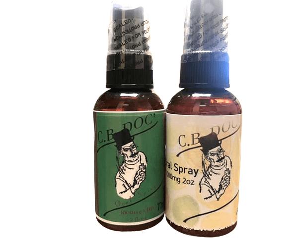 Oral Spray - Fruit Punch- 1000mg CBD