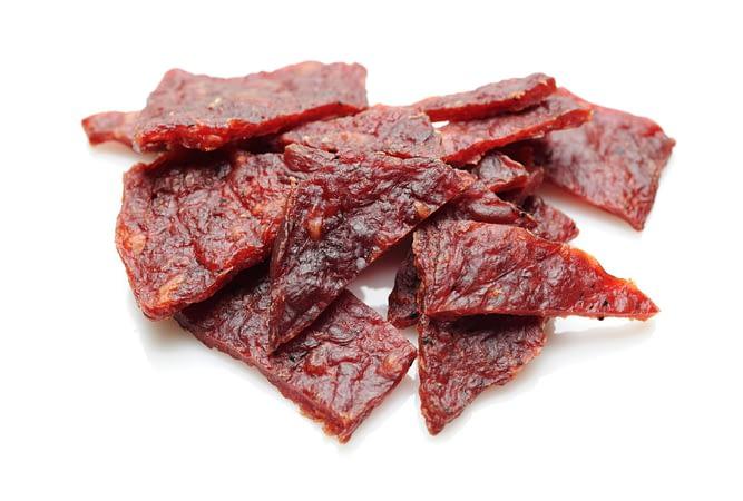 cbd beef jerky slab